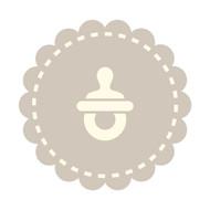 Caleb Gray Studio: Pacifier Badge