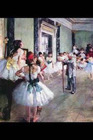 Dance Class by Edgar Degas