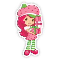 Strawberry Shortcake with Present