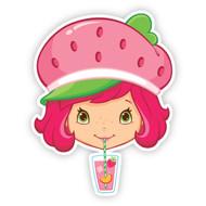 Strawberry Shortcake Sipping Lemonade