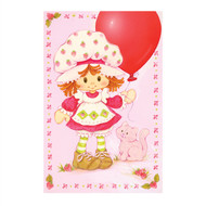 Classic Strawberry Shortcake Celebration Balloon & Cupcake