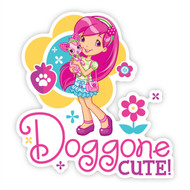 Strawberry Shortcake Doggone Cute Wall Badges