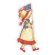Holly Hobbie Americana Flag