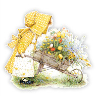 Holly Hobbie Classic Wheelbarrow