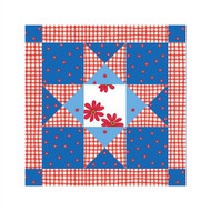 Holly Hobbie Wall Squares: Americana Quilt