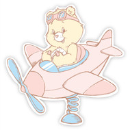 Care Bears Funshine Bear Plane
