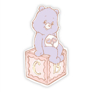 Care Bears Share Bear Alphabet Block