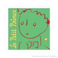 Le Petit Prince Wall Square Green