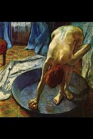 Tub by Edgar Degas
