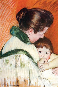 Woman & Child by Mary Cassatt