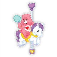 Love-A-Lot Bear On Carousel Horse