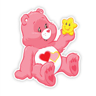 Care Bears Love A Lot Bear Star