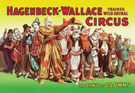 Hagenbeck Wallace Circus An Army of Clowns