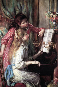 Girls at the Piano by Renoir