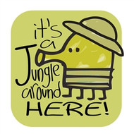 Doodle Jump Wall Badge: It's a Jungle