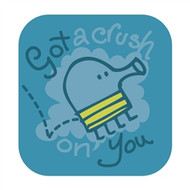 Doodle Jump Wall Badge: Got a Crush on You