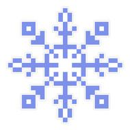 Snowflake Purple