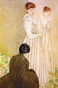 Fitting by Mary Cassatt