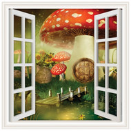 Window Views Mushroom