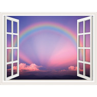 Window Views Rainbow One