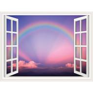 Window Views Rainbow One