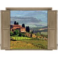 Window Views Tuscany