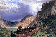 Storm in the Rockies Mt. Rosalie