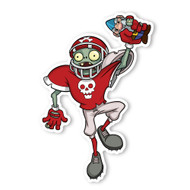 Plants vs. Zombies: Football Zombie IV