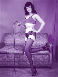 Bettie Page XIV (Multiple Color Options)