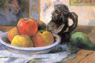 Still Life with Apples Pears and Krag by Gauguin