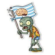 Plants vs. Zombies 2: Beach Flag Zombie