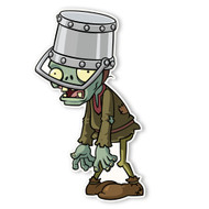 Plants vs. Zombies 2: Peasant Buckethead Zombie