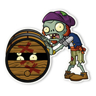 Plants vs. Zombies 2: Barrel Roller Zombie
