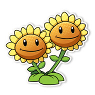 Plants vs. Zombies 2: Twin Sunflower