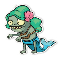 Plants vs. Zombies 2: Imp Mermaid Zombie