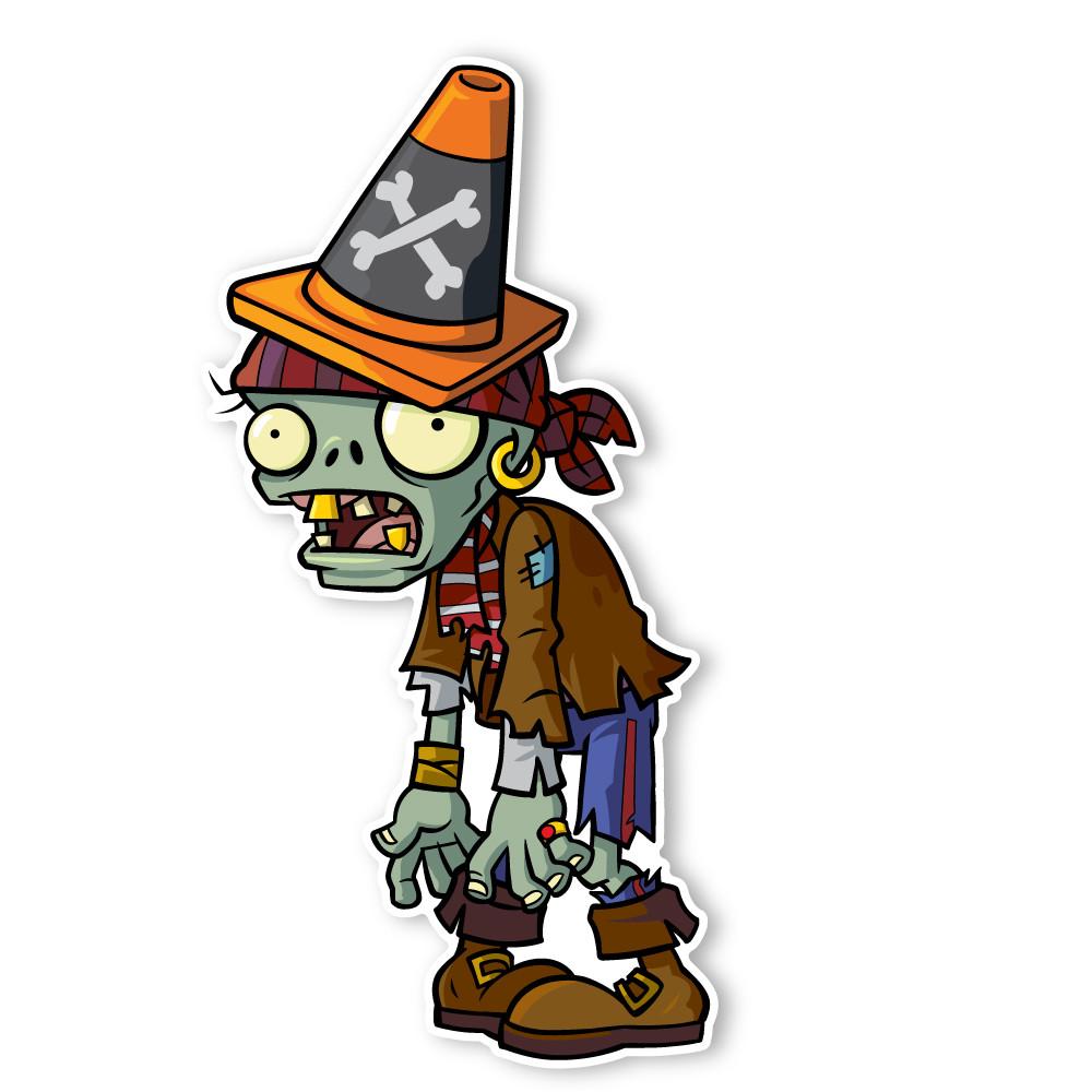 Plants vs  Zombies 2: Pirate Conehead Zombie