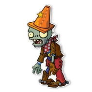 Plants vs. Zombies 2: Cowboy Conehead Zombie