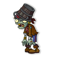 Plants vs. Zombies 2: Pirate Buckethead Zombie