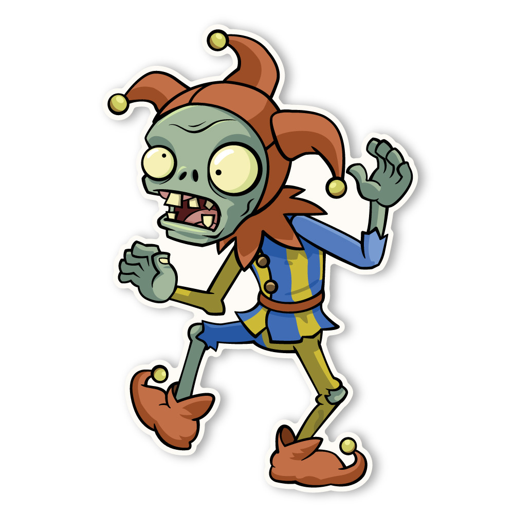 Plants Vs Zombies 2 Jester Zombie Walls 360