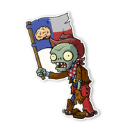 Plants vs. Zombies 2: Cowboy Flag Zombie