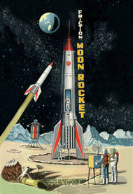 Friction Moon Rocket