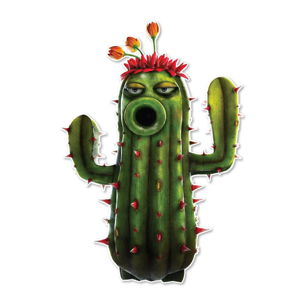 Plants vs. Zombies Garden Warfare: P Cactus - Walls 360