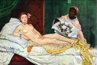 Olympia #1 by Manet