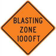 Blasting Zone Wall Graphic