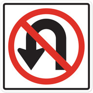 No U-Turn Wall Graphic