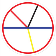 Circumference Wall Graphic