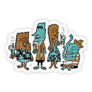 Tiki Head Party