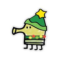 Doodle Jump Christmas Suit