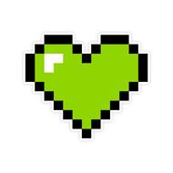 Wall Heart Green