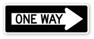 One Way Right Wall Graphic